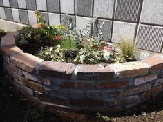 手づくり花壇でガーデニングを楽しく!レンガで花壇を作ろう | ミライエ Fountain, Outdoor Decor, Plants, Gardening, Home Decor, Houses, Homemade Home Decor, Garten, Flora