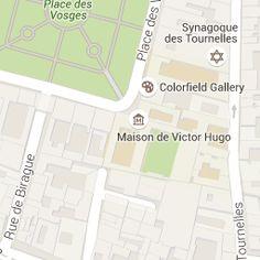 Maison de Victor Hugo Hôtel de Rohan-Guéménée 6, place des Vosges 75004 Paris.- 2) HÔTEL DE ROHAN-GUEMENE, ou HÖTEL ARNAULD est un hôtel particulier situé dans le quartier du Marais, au 6 et 6 bis de la place des Vosges  et au 17 rue des Tournelles. Il porte  le nom de ses anciens propriétaires aux XVII° et XVIII°s, l'une des branches de l'illustre famille de Rohan, l'une des familles des plus puissantes et influentes sous l'Ancien Régime, descendant des anciens rois et ducs de Bretagne.