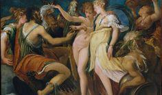 Andrea Schiavone. Nozze tra Cupido e Psich, 1550 ca. The Metropolitan Museum of Art, New York, © 2015 Image copyright. Resource Scala, Firenze