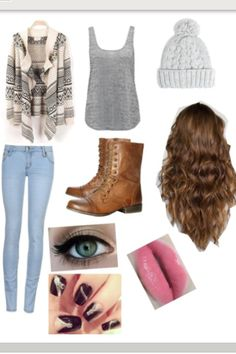 polyvore outfit #fall #autumn #casual