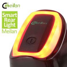 check discount meilan smart bicycle rear light bike tail led light shock and daylight sensor switch 7 #light #sensor