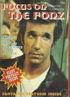 THE FONZ - FOCUS ON POSTER MAGAZINE 1978
