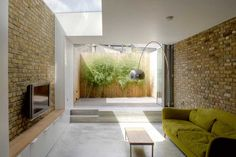 Converted basement of a Victorian terraced house