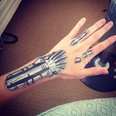 Terminator Hand, Makeup Special Effects, Halloween