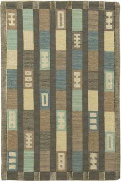 Swedish Flat Weave Rug BB6153