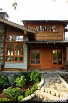 1000 images about pacific northwest home style on for Pacific northwest houses