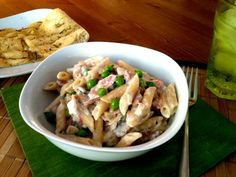 Mrs Ellwood's Simple Life: Simple Penne Carbonara