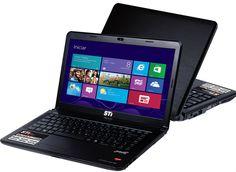 Notebook #AMD Semp Toshiba com R$ 150 de desconto.