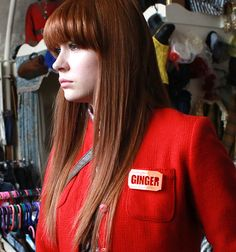 Karen Gillan of Doctor Who fame wears our Ginger badge on the set of 'Not Another Happy Ending' movie. Not Another Happy Ending, Karen Gillan Doctor Who, Scottish Gifts, Ginger Hair, Hair Pictures, Celebrity Pictures, Hair Inspiration, Badge, Celebrities