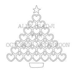 Multi-photo Christmas Layout   Cut File
