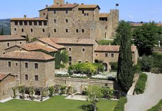 Castello Banfi Il Borgo. Ask us how to stay in this centuries old castle in Tuscany #Italy
