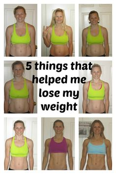 5 things that helped me lose my weight!