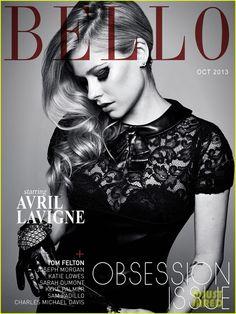 Avril Lavigne Covers 'Bello' Magazine October 2013 |