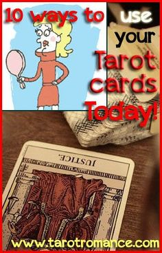 Use your Tarot cards to find a hairdresser you can trust! 10 Ways to Use Your Tarot Cards Today... http://tarotromance.com/10-ways-to-use-your-tarot-cards-today/