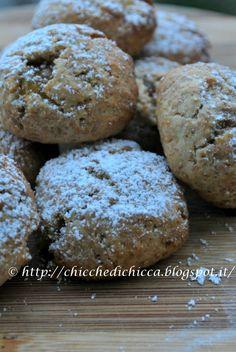 Le chicche di chicca: Biscotti Integrali Olio e Miele