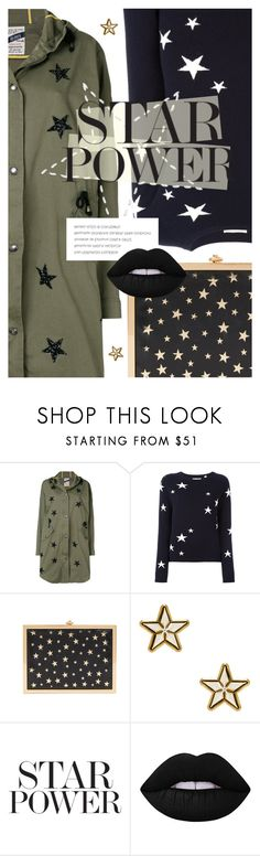 """Twinkle, Twinkle: Star Outfits"" by cultofsharon ❤ liked on Polyvore featuring History Repeats, Chinti and Parker, Alice + Olivia, Givenchy and Lime Crime"