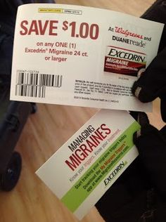 They gave me a coupon! Also there is a free app at www.MigraineResource.com. #DRExcedrin