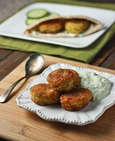 Chick & Split Pea Falafels: Protein-packed and delicious.........Going in Heathier Side...NO frying.....gonna try a Bake