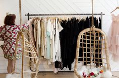 Lovely. I need a hanging closet this big