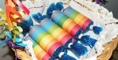 These Grace Filled Days: Rainbow Party Theme Favors