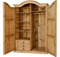 Corona Rustic Wardrobe Armoire R Any individual can develop a property sweet house, even when the price range is tight. There are many ideas. Wardrobe Storage Cabinet, Clothes Drawer Organization, Wardrobe Cabinets, Antique Wardrobe, Antique Armoire, Wooden Wardrobe Closet, Wardrobe Furniture, Bedroom Furniture, Plywood Furniture