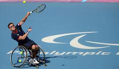 04/09/2012: Wheelchair Tennis player Gordon Reid reached the men's Singles quarter-finals.