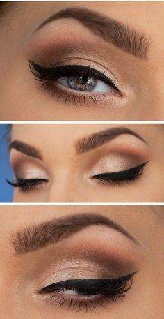 How to apply eyeliner? Perfect dramatic eyes. | Fab Fashion Fix