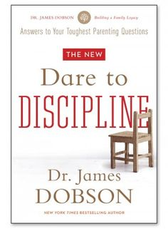 Dr. James Dobson  Dr. James Dobson encourages parents to effectively dispense conviction and courage in an environment of pure love. Help for parents of children and teens is on the way in this practical message that addresses: boundaries, motivating without anger, actions and consequences, and respect and how to earn it.  Available in the following formats: DVD, softcover, and Bible study, wherever you buy Christian products and resources. Bible studies may include leader guide, ...