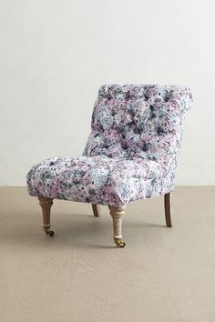 Abstract Print Orianna Slipper Chair #anthrofave