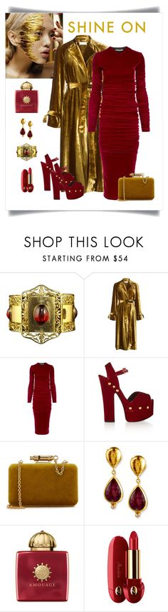 """""""Contest - Crushing on Velvet"""" by romaboots-1 ❤ liked on Polyvore featuring A.L.C., Y/Project, Giuseppe Zanotti, Sophie Hulme, Gurhan, AMOUAGE and Guerlain"""