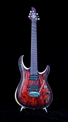 Negrini Guitars - Liuteria GNG Brea PA6 - Half fanned, Amaranth neck Updated about an hour ago Custom made with a maple body, topped with an italian poplar top- Amaranth neck (one piece including fretboard) half-fanned, Hipshot tremolo, full scallop, GNG custom pickups.