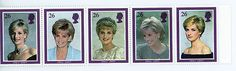 GB STAMP MINT NH QE 11 1998 DIANA PRINCESS OF WALES COMMEMORATION SG 2021 - 2025
