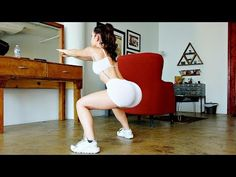 Get Sexy Bikini Thighs and a Nice Bubble Butt with this Workout - YouTube