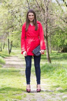 Style and Trouble: Red Trench