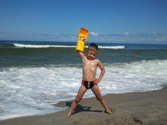 King of the Beach! King, Running, Beach, Happy, Swimwear, Bathing Suits, Swimsuits, Keep Running, Seaside