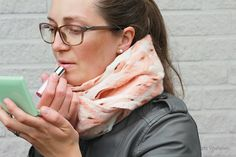Loop Scarf, Scarf for Women, Merino Wool Scarf, Felted Wool Shawl, Infinity Scarf, Neck Warmer, Gift for Her, Autumn/Winter Wrap, Peach by EcoFeltStudio on Etsy Felted Wool, Wool Felt, Shades Of Peach, Olive Oil Soap, Loop Scarf, Peach Colors, Neck Warmer, Womens Scarves, Mother Day Gifts