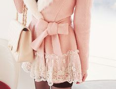 Beautiful pink jacket