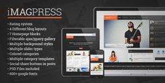 Download and review of iMagPress - Flat Magazine Theme, one of the best Themeforest Magazine & Blogs themes {Download & review at|Review and download at} {|-> }http://best-wordpress-theme.net/imagpress-flat-magazine-download-review/