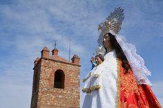 Bajada de la Virgen del Castillo, Chillón 2015.
