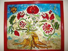 Hun és magyar ételek ízharmóniája Biro, Folk Art, Deer, Spirituality, Culture, Embroidery, History, Fa, Painting