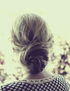 Twisted Sister hair style-  It is a very elegant hairstyle, plus it is also easy to make. The first step is to clip front and top up. Next, gather your hair in a messy bun at the nape of your neck. Third step is to take an individual strand of hair from the top and front sections and loosely twisting them.