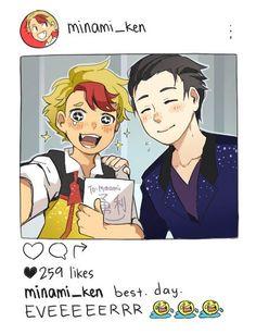 Minami: mi sueño echo realidad*-* una foto con mi crushjoder!! es la gloria lo amo