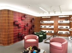 Bally Flagship store 45/46 New Bond Street, London, W15 25F UK