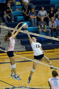 best feeling in the world... blocking a spike! :) Volleyball!!!!