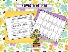 This is a spring freebie for my followers to enjoy. It is a strip book that is easy to put together and allows students to practice patterning by cutting and pasting them. Stack all the pages, staple them 3 times and cut them on a cutting board. This is so quick and easy.If you download this please check out my other products and follow me.Happy Spring!Fran@kindergartencrayons.blogspot.com