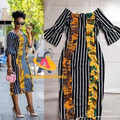 African Print Dresses, African Prints, African Dress, African Attire, African Wear, African Women, Ankara Fashion, African Fashion Dresses, Fashion Outfits