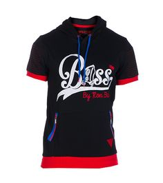 1816327eb375 BASS BY RON BASS Short sleeve hoodie - that should be mine!
