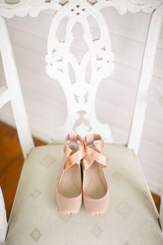 Blush Ballet Slippers as Wedding Shoes by Chloe Ann Designs https://www.theknot.com/marketplace/chloe-ann-designs-new-york-ny-517975 | Winfield Inn – Kyle, Texas https://www.theknot.com/marketplace/the-winfield-inn-kyle-tx-336012 | The Nichols Photography https://www.theknot.com/marketplace/the-nichols-austin-tx-324559
