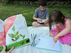 Book-nic { Take a book outside and do this simple but important activity in the fresh air! }