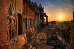 Exploring the temple of Cambodia. #travel #cambodia